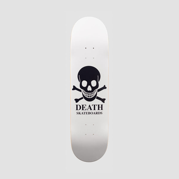 Death OG Skull Deck White - 8.1 - Skateboard