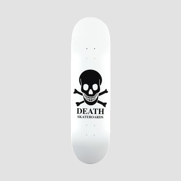 Death OG Skull Deck White - 8.5 - Skateboard