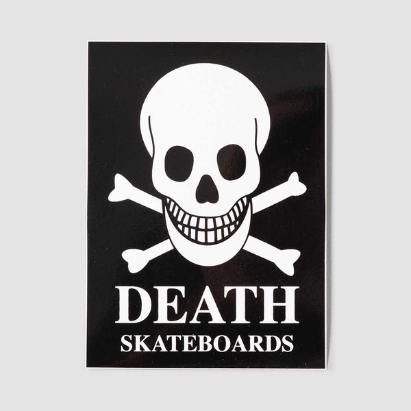 Death OG Skull Sticker 95x70mm