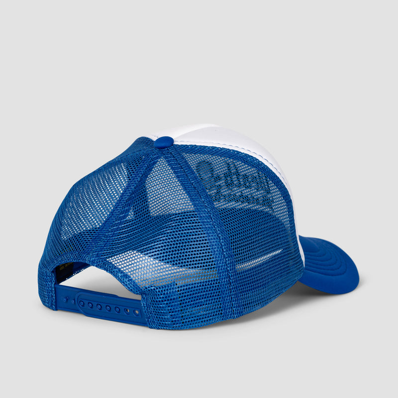 Death Old English Trucker Cap Royal Blue/White