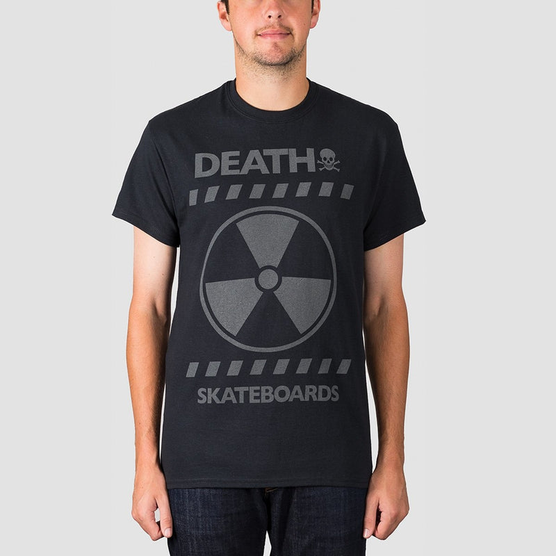 Death RAD 3M Reflective Print Tee Black - Clothing