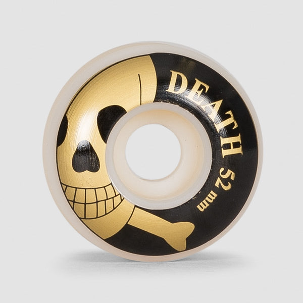 Death Skulls Wheels White 52mm - Skateboard