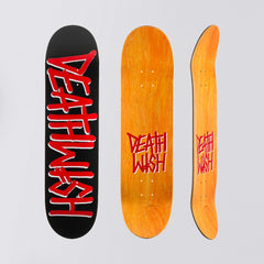 Deathwish Deathspray Deck Red/Black - 8 - Skateboard