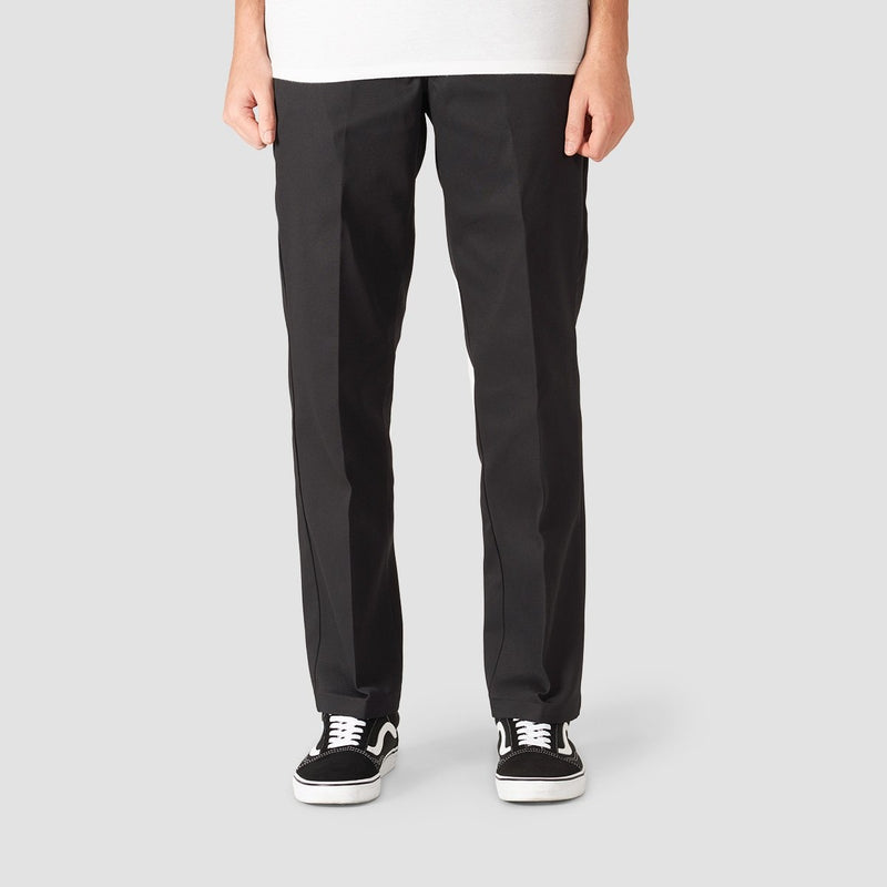 Dickies 873 Slim Straight Work Pants Black - Clothing