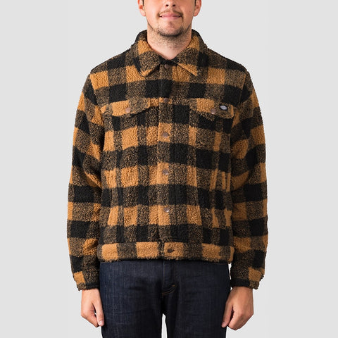 Dickies Cawood Jacket Brown Duck
