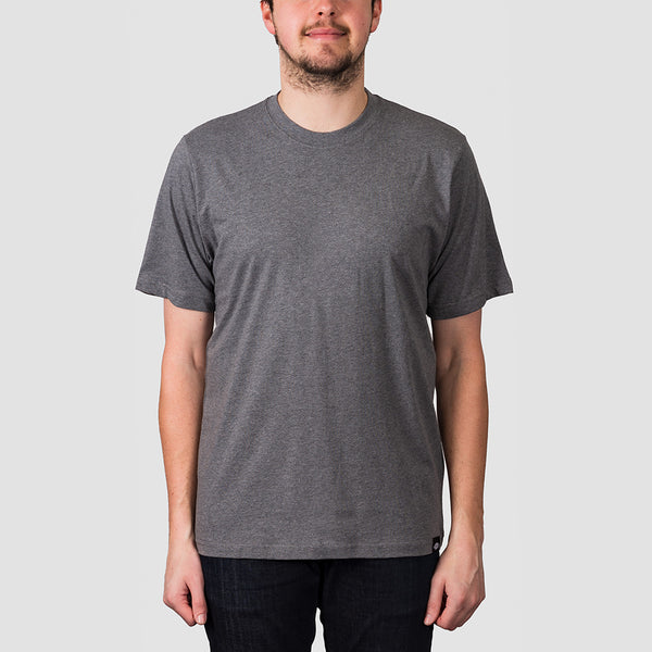 Dickies Crew Neck Tee 3 Pack Dark Grey Melange