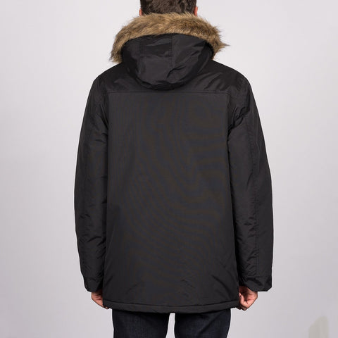 Dickies Curtis Parka Jacket Black - Clothing