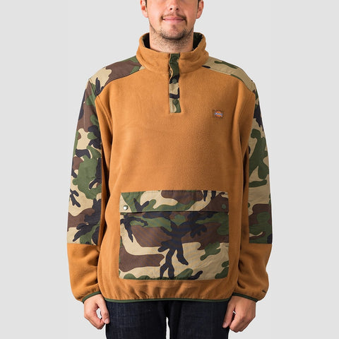 Dickies Denniston Sweat Crew Brown Duck