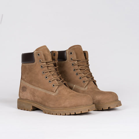 Dickies Fort Worth Boot Nubuck Brown - Footwear