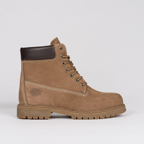 Dickies Fort Worth Boot Nubuck Brown