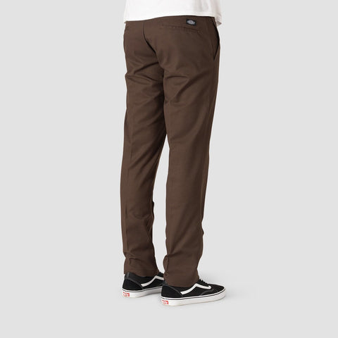Dickies Industrial Work Pants Chocolate Brown - Clothing