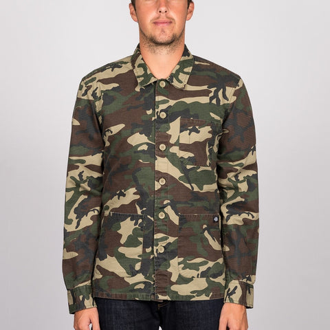 Dickies Kempton Long Sleeve Shirt Camouflage