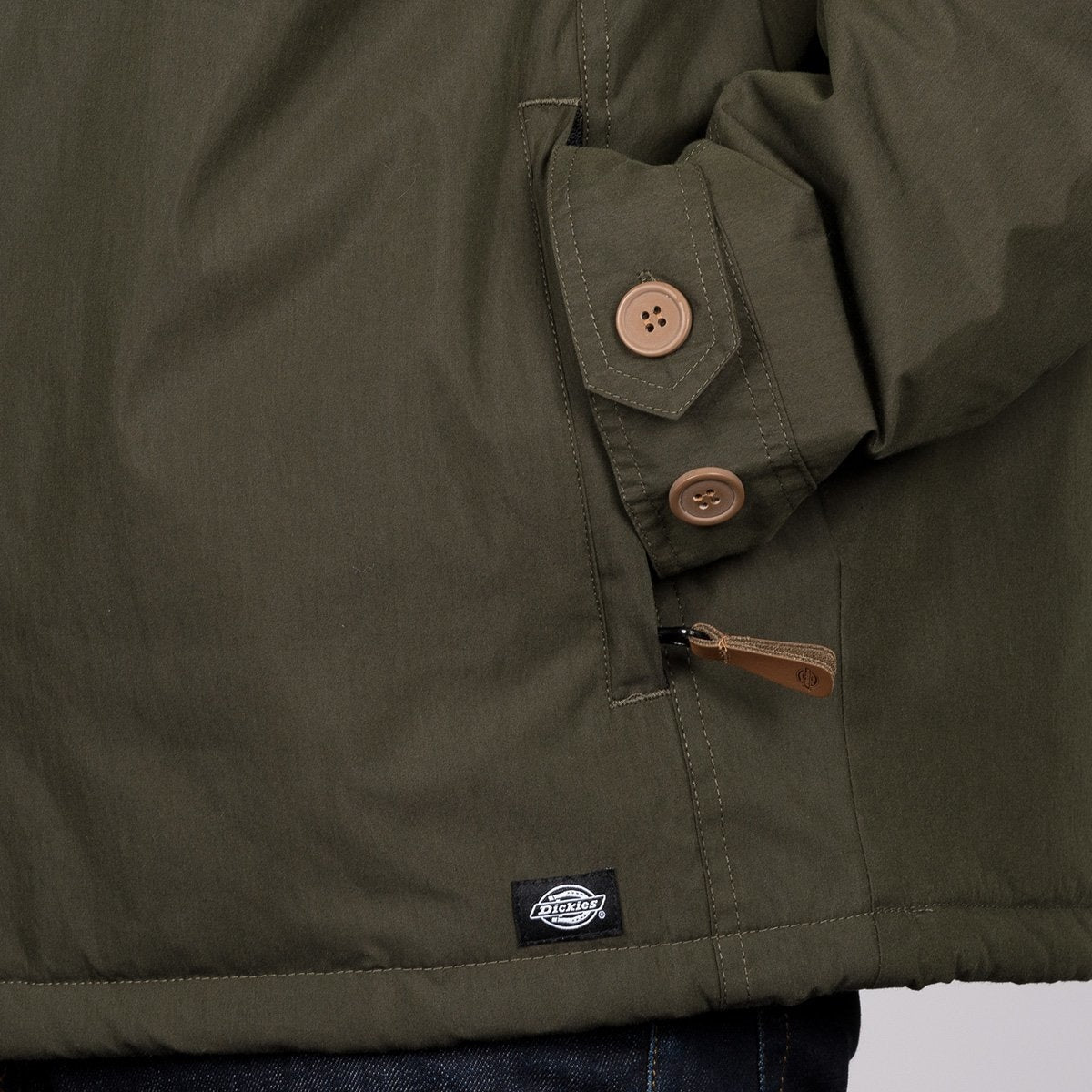Dickies Milford Jacket Olive Green - Clothing