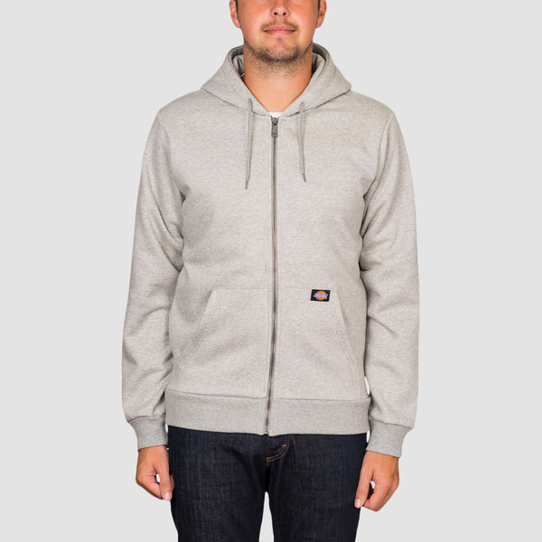 Dickies New Kingsley Zip Hood Grey Melange
