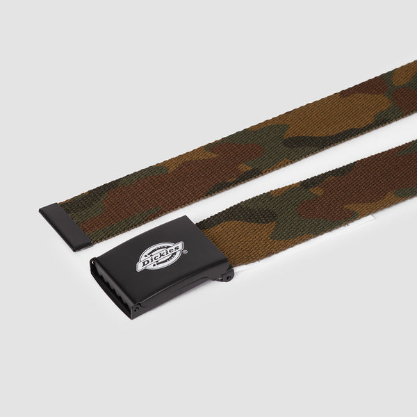 Dickies Orcutt Webbing Belt Camouflage