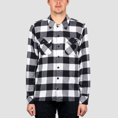Dickies Sacramento Long Sleeve Shirt Black - Clothing