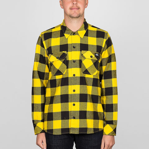 Dickies Sacramento Long Sleeve Shirt Yellow
