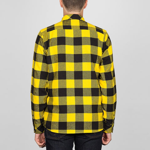 Dickies Sacramento Long Sleeve Shirt Yellow - Clothing