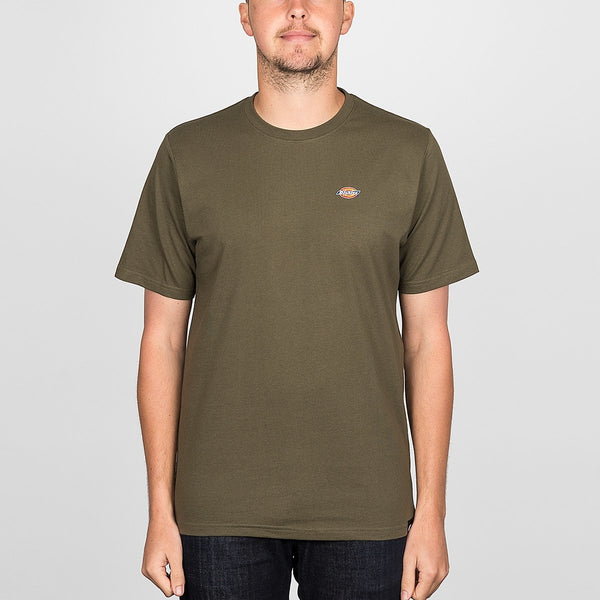Dickies Stockdale Tee Dark Olive - Clothing