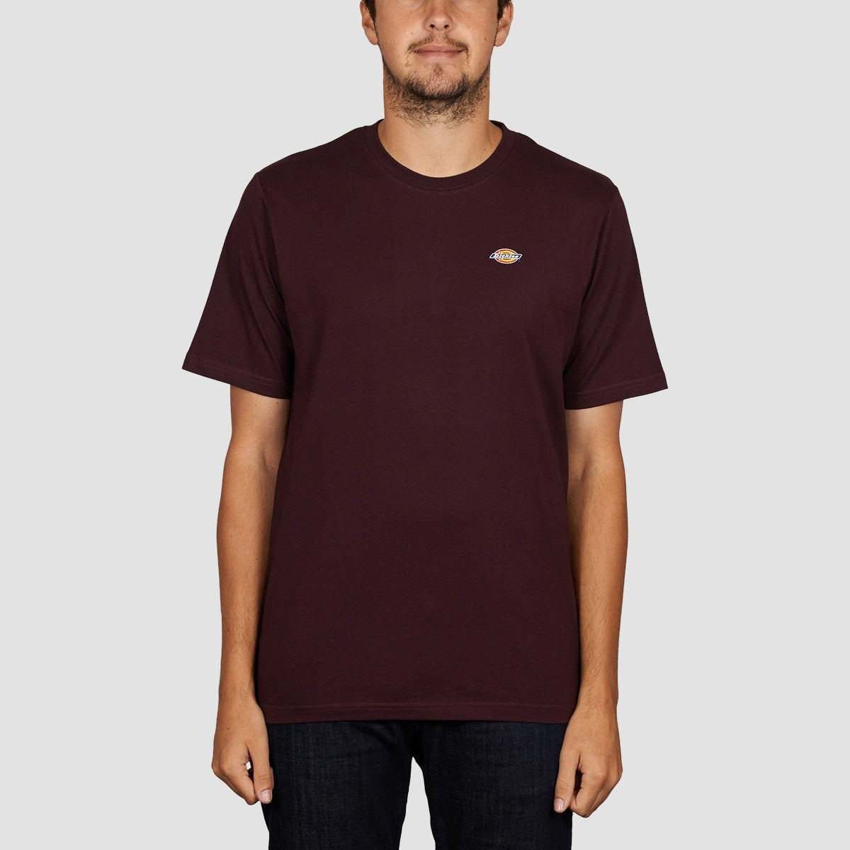 Dickies Stockdale Tee Maroon - Clothing