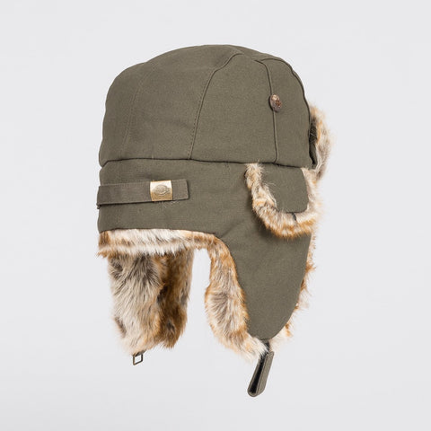 Dickies Trout Creek Trapper Hat Olive Green - Accessories