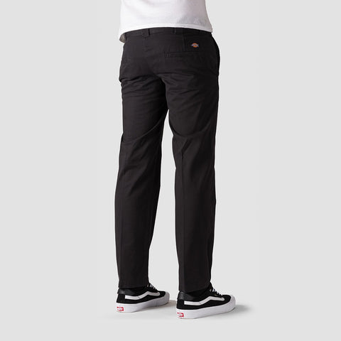 Dickies Vancleve Slim Fit Work Pant Black - Clothing
