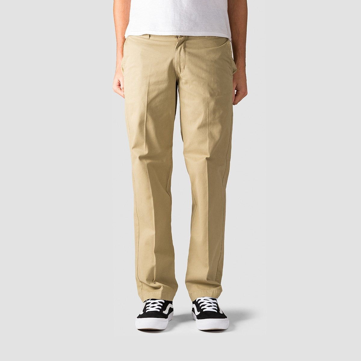 Dickies Mens Classic-Fit Casual Chino Pants
