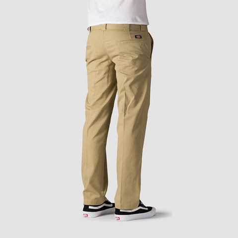Dickies Vancleve Slim Fit Work Pant Khaki - Clothing