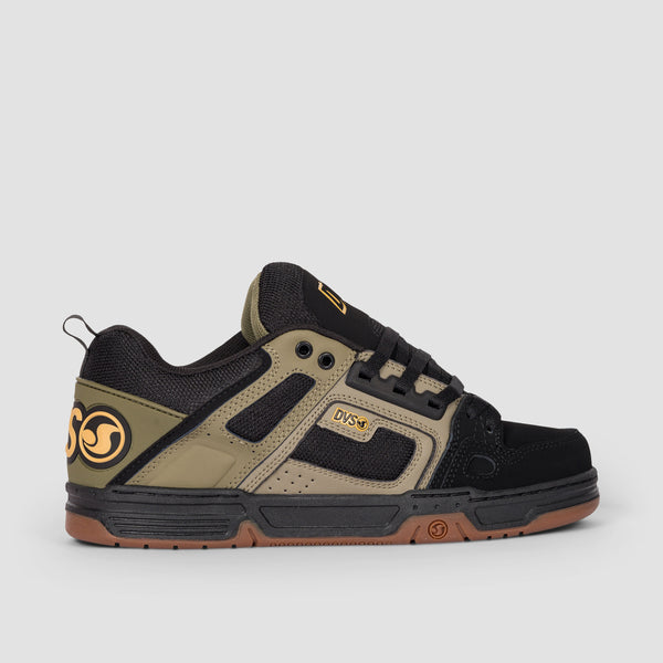 DVS Comanche Brindle Burnt Olive/Black/Leather/Nubuck