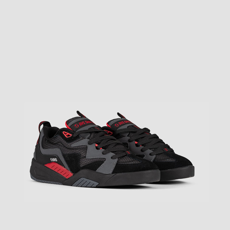 DVS Devious Charcoal/Black/Red/Nubuck