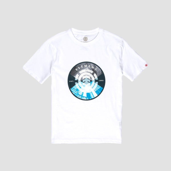 Element Aiken Tee Optic White - Kids