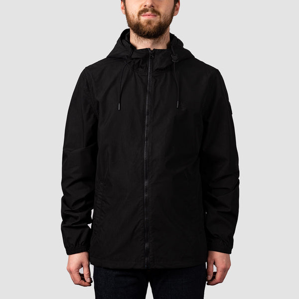Element Alder Poplin Jacket Flint Black
