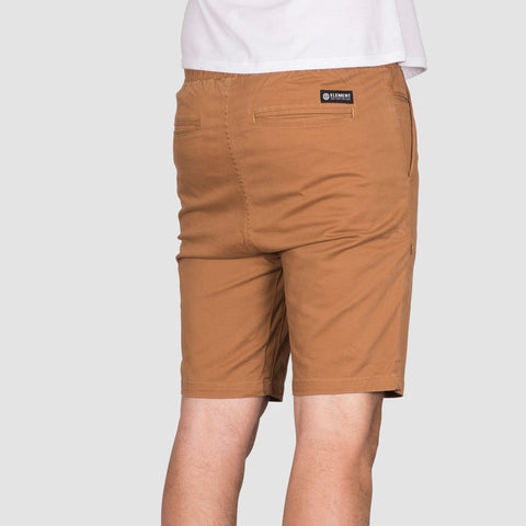 Element Altona Walkshorts Bronco Brown - Clothing