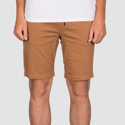 Element Altona Walkshorts Bronco Brown