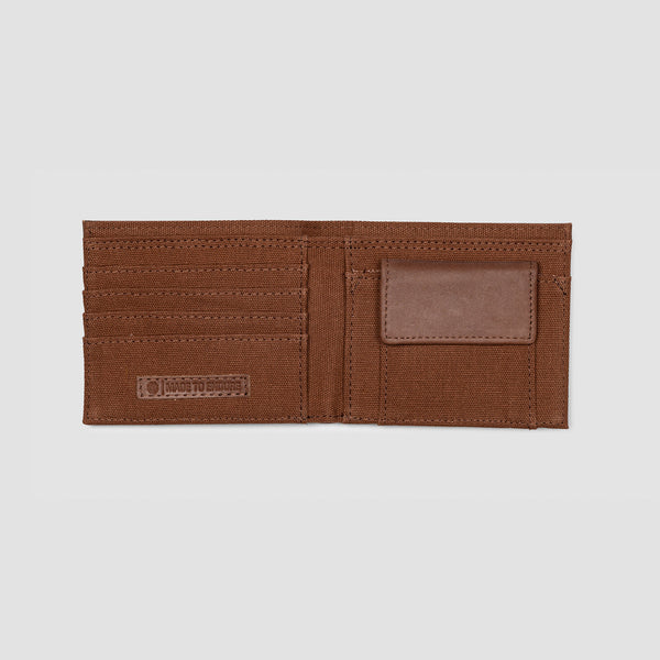 Element Avenue Leather Wallet Brown