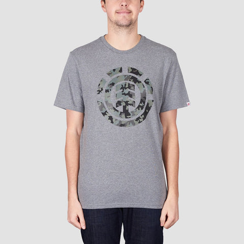 Element Bark Logo Tee Grey Heather