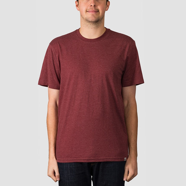 Element Basic Crew Tee Port Heather - Clothing