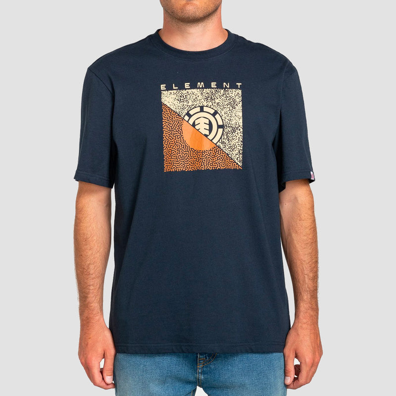 Element Bits Tee Eclipse Navy