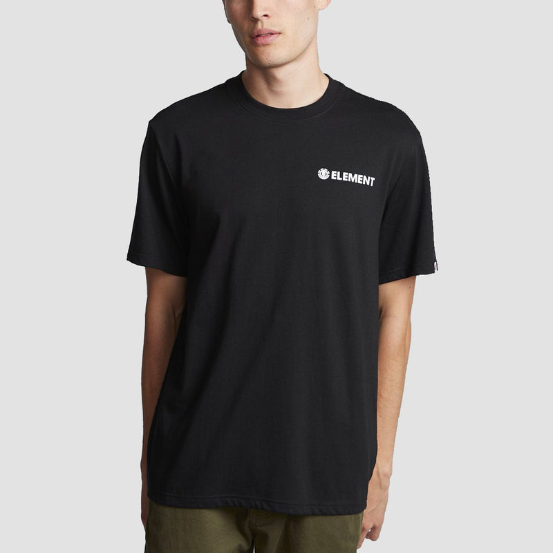 Element Blazin Chest Tee Flint Black