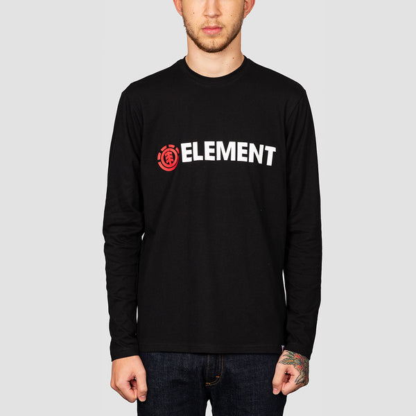 Element Blazin Longsleeve Tee Flint Black