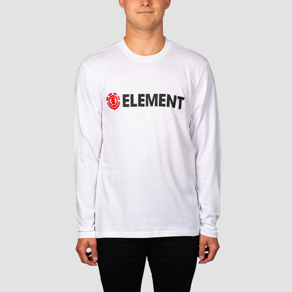 Element Blazin Longsleeve Tee Optic White