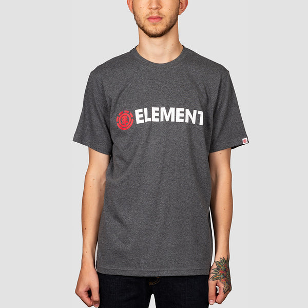 Element Blazin Tee Charcoal Heather