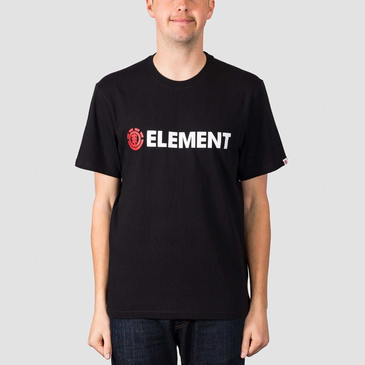 Element Blazin Tee Flint Black - Clothing