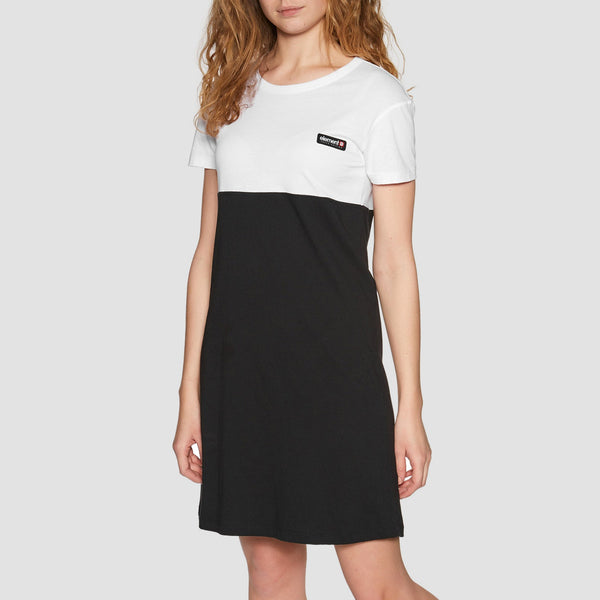 Element Blocked Dress Flint Black - Womens