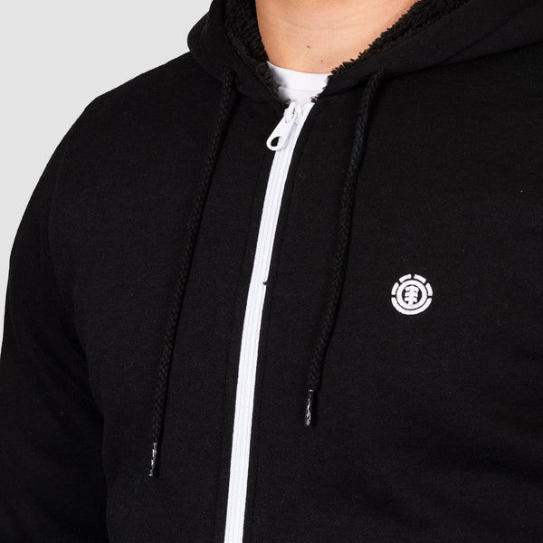 Element Bolton Zip Hood Flint Black
