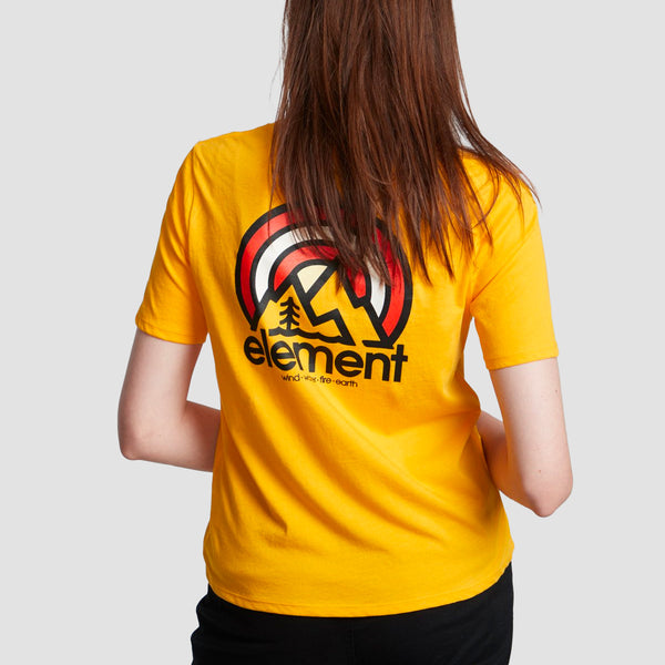 Element Branded Tee Gold - Womens