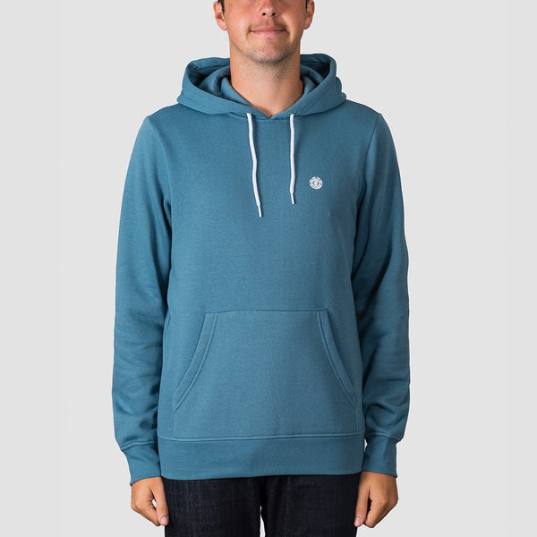 Element Cornell Classic Pullover Hood Aegean Blue - Clothing