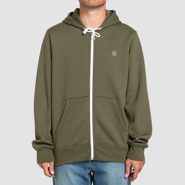 Element Cornell Classic Zip Hood Army