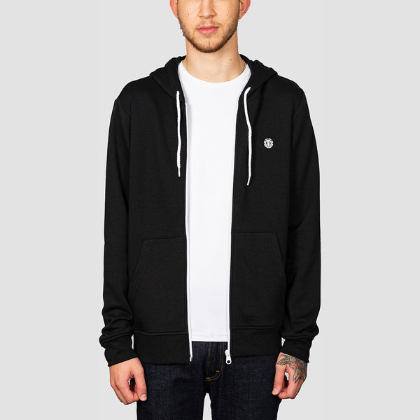 Element Cornell Classic Zip Hood Flint Black
