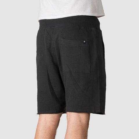 Element Cornell Ft Walkshorts Off Black - Clothing